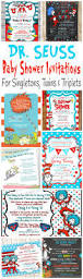 Twins 1st Birthday Invitation Cards Best 25 Dr Seuss Invitations Ideas Only On Pinterest Dr Seuss