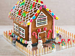 Better Homes And Gardens Christmas Crafts - gingerbread house patterns and recipes successfully used for