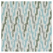 Ikat Indoor Outdoor Rug Seaside Ivory And Blue Ikat Indoor Outdoor Rug 7 9 X 7 9 Square