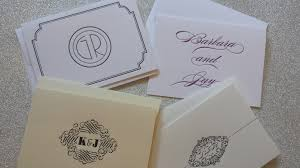 writing thank you notes for your wedding gifts chic ink