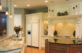 decorating classic dark brown wood kitchen cabinet with lowes