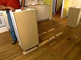 how build upscale kitchen island tos diy wood blocks will keep cabinets secure