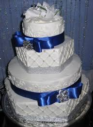wedding cake royal blue hexagon royal blue wedding cake cakecentral