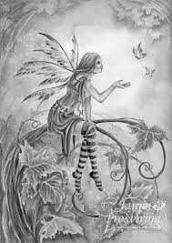 coloring fairies coloring pages