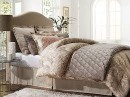 Tan Comforter Jaclyn Smith 5 Piece Comforter Set U2013 Paisley Tan Home Bed