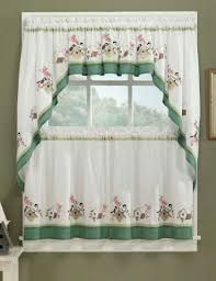 birdsong kitchen curtains discount kitchen curtains embroided