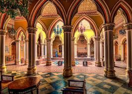 interior design amazing luxury majarajas decorative courtyard