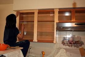 Refinished Kitchen Cabinets Do It Yourself Refacing Kitchen Cabinets