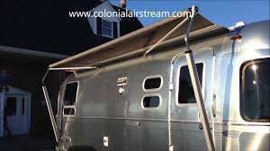 Powered Awnings How To Work The Airstream Zip Dee Relax 12v Automatic Power Awning