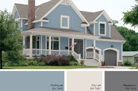 exterior paint colors blue interior u0026 exterior doors
