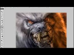 11 minute werewolf sketch color youtube