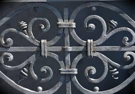 free photo iron railings wrought iron free image on pixabay