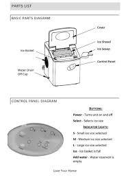 Luma Comfort Im200ss Reviews Shop Luma Comfort 28 Lb Portable Ice Maker Stainless Steel And