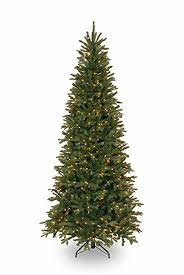 national tree 7 5 foot fir slim tree with 600