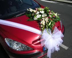 kit dã coration voiture mariage pour votre mariage création de bouquet de mariée décoration de