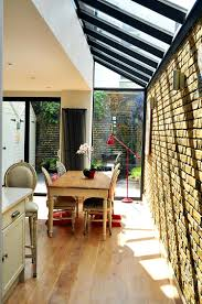 apartments amusing bold and inventive dining rooms brick walls