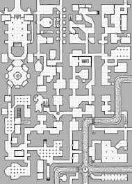 oubliette magazine mini megadungeon map