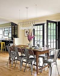 farmhouse table with metal chairs fabulous farmhouse tables door trims black cabinet and doors