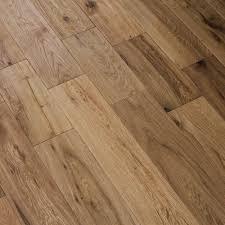 handscraped woodland oak brushed solid wood flooring