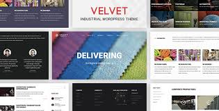 wordpress templates for websites velvet textile industry business wordpress theme for garments