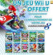 jeux de mario cuisine amazon fr mario kart 8 enregistré 1 jeu wii u offert à télécharger