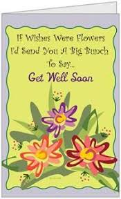 cards for the sick buy get well sick ill better flower humor greeting card large