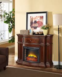 pleasant hearth grayson electric convertible media fireplace