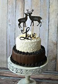 buck and doe cake topper wedding cake topper gallery wedding cakes buck and doe