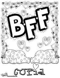 bff coloring pages for girls http www color me crazy org