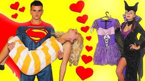 maleficent stolen costumes superman save rapunzel funny