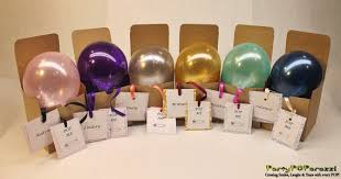 gift inside a balloon ask bridesmaid to be in wedding balloon in gift box