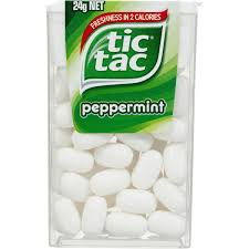 tic tac tic tac peppermint 24g woolworths