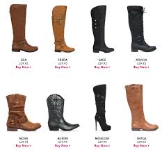 justfab s boots fall boots deal grab black or brown boots for 19 96 each shipped