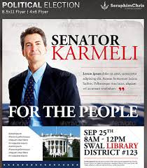 election flyer templates political campaign free flyer template