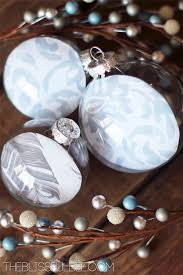 diy fillable ornaments the blissful bee