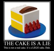 Cake Is A Lie Meme - the cake is a lie another play on a cake related internet flickr