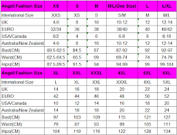size chart fast fashion clothing wholesale club dresses