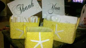 Basket For Wedding Programs My Diy U201cthank You U201d Signs And Program Baskets For Our Beach