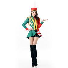 Toy Soldier Halloween Costume Aliexpress Buy Ladies Toy Soldier Costume Women U0027s Majorette