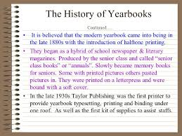 memory books yearbooks yearbook ppt online