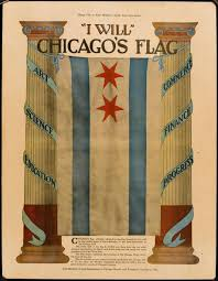 Flag With Four Red Stars The Story Of Chicago U0027s Four Star City Flag U2013 Robert Loerzel U2013 Medium