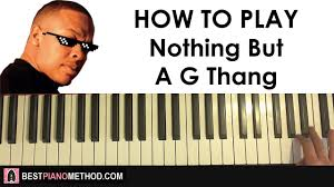 Dr Dre Meme - how to play dr dre nuthin but a g thang thug life meme song