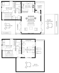 Small Floor Plans by Small House Plan Small Contemporary House Plan Modern Cabin Plan