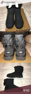 ugg mini bailey bow grey sale best 25 ugg mini bailey bow ideas on damen 2930