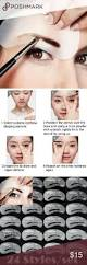 best 25 eyebrow stencil ideas on pinterest brow stencils