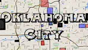 Zip Code Map Okc Oklahoma Gangs Okc Gang Map Hood Map