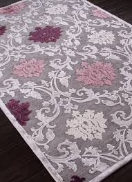 Purple And Grey Area Rugs Brilliant Classy Ideas Pink And Purple Area Rug Magnificent