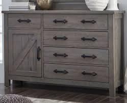 gray rustic contemporary 6 piece queen bedroom set austin rc