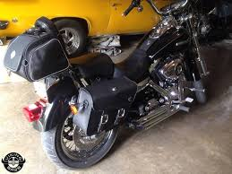 harley dyna super glide fxd motorcycle saddlebags small thor series