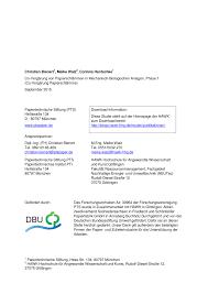 PDF Co fermentation of paper sludge in mechanical biological